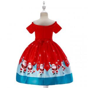 Rochie fetite - Santa Claus is dancing