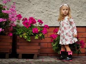 Rochita cu maneca lunga - Colectia Roses