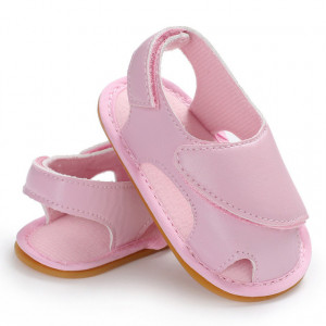 Sandale roz inchise in fata