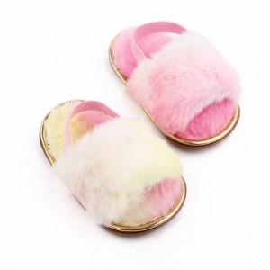 Sandalute pentru fetite multicolore