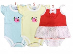 Body pentru fetite - Pasarica - Hainute Bebelusi