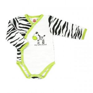 Body cu capse pe burtica - Zebra - Haine Bebe
