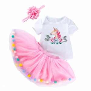 Body cu fustita din tulle - Poney