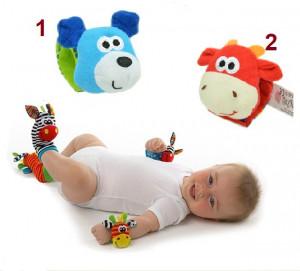 Bratara interactiva pentru bebelusi - Animalute