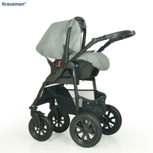 Carucior 3 in 1 Model Jet Grey