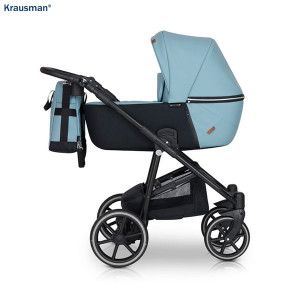 Carucior 3 in 1 model Verano Lux Blue