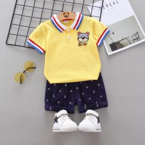 Costum cu tricou galben - Bear
