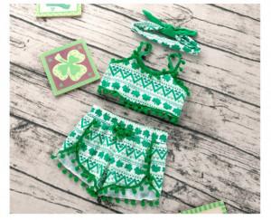 Costumas de vara pentru fetite - Lucky