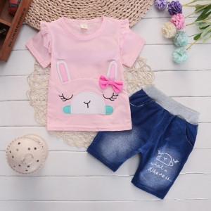 Costumas fetite cu tricou - Rabbit
