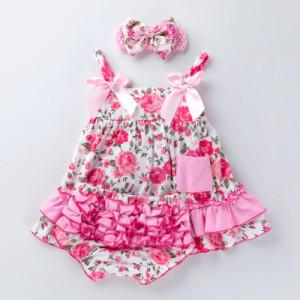 Costumas pentru fetite - Rose flower