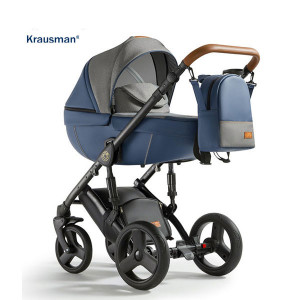 Krausman - Carucior 3 in 1 Nexxo Dark Blue