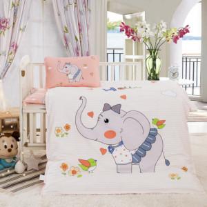 Lenjerie patut bebelusi - Little elephant