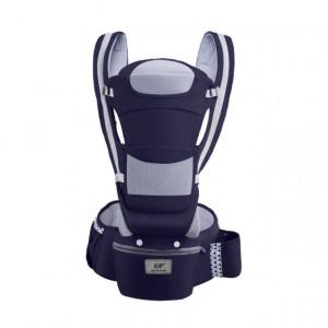 Marsupiu ergonomic bleumarine cu scaunel