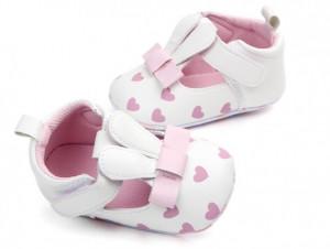 Pantofiori fetite albi - Urechi de iepuras