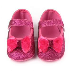 Pantofiori roz cu sclipici - Glitter