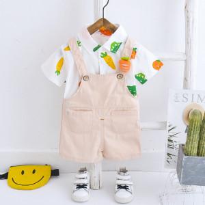 Salopeta cu camasuta - Happy vegetables