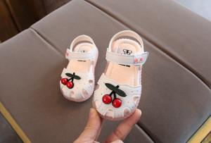 Sandalute ivoire pentru fetite - Cirese