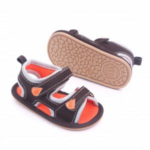 Sandalute maro cu barete ajustabile