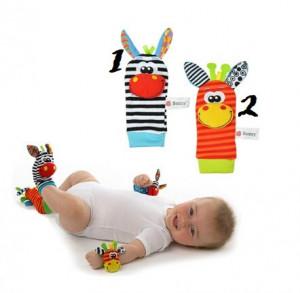 Sosetele interactive pentru bebelusi - Zebre