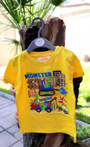 Tricou baietei - Little monster