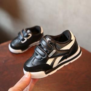 Adidasi pentru copii negru cu alb