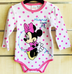 Body Minnie-Colectia Disney