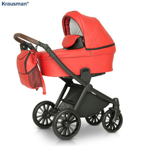 Carucior 3 in 1 model Rider Soft Red