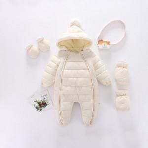 Combinezon ivoire din fas pentru copii