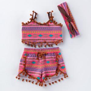 Costumas de vara pentru fetite - Parsly