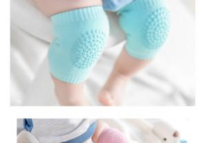 Genunchiere cu silicon pentru bebelusi