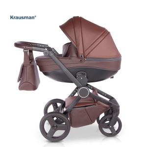 Krausman - Carucior 3 in 1 Ego Brown