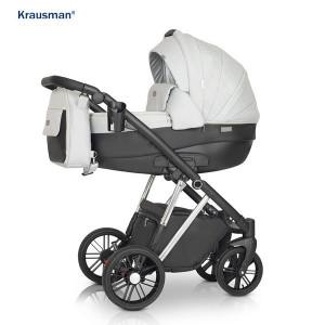 Krausman - Carucior 3 in 1 LEXXO Silver Gray Black