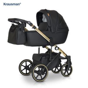 Krausman - Carucior 3 in 1 Storm Black