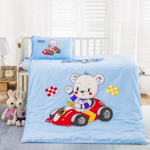 Lenjerie patut bebelusi - Teddy driver