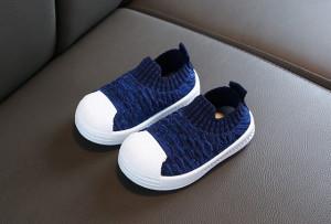 Mocasini albastri tip adidas