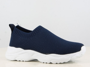 Mocasini bleumarin tip adidas - Sporty