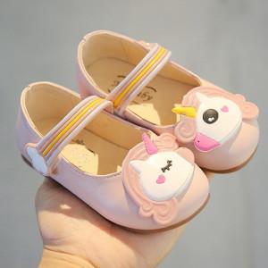Pantofi roz pentru fetite - Unicorn