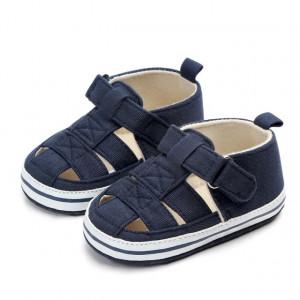 Pantofiori decupati bleumarine