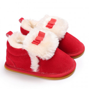 Pantofiori rosii imblaniti