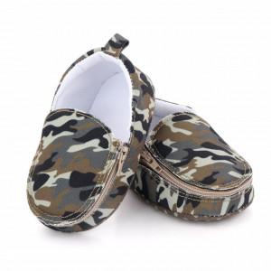 Pantofiori tip mocasini - Army