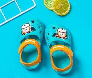 Papuci tip sandaluta din cauciuc pentru copii - Cow