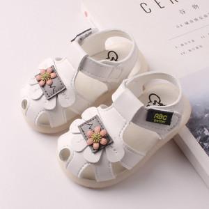 Sandale albe - Flower