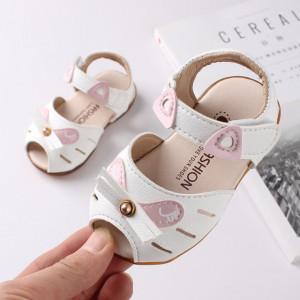 Sandale albe - Sweet Kitty