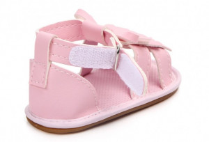 Sandale fetite - Franjuri roz