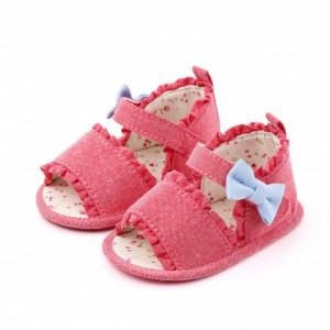 Sandalute roz corai pentru fetite