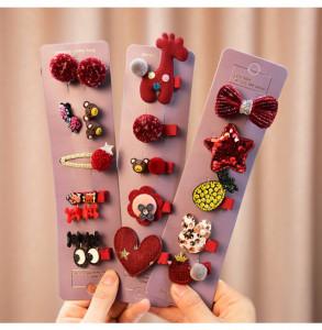 Set de 24 accesorii pentru par - Model B