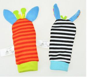 Soseta interactiva pentru bebelusi - Zebre