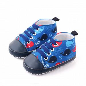 Tenisi albastri pentru bebelusi - Balenute