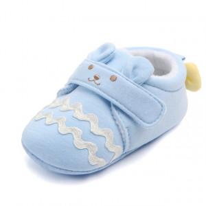 Botosei bebelusi bleu - Happy teddy