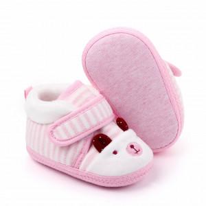 Botosei pentru bebelusi - Pink teddy